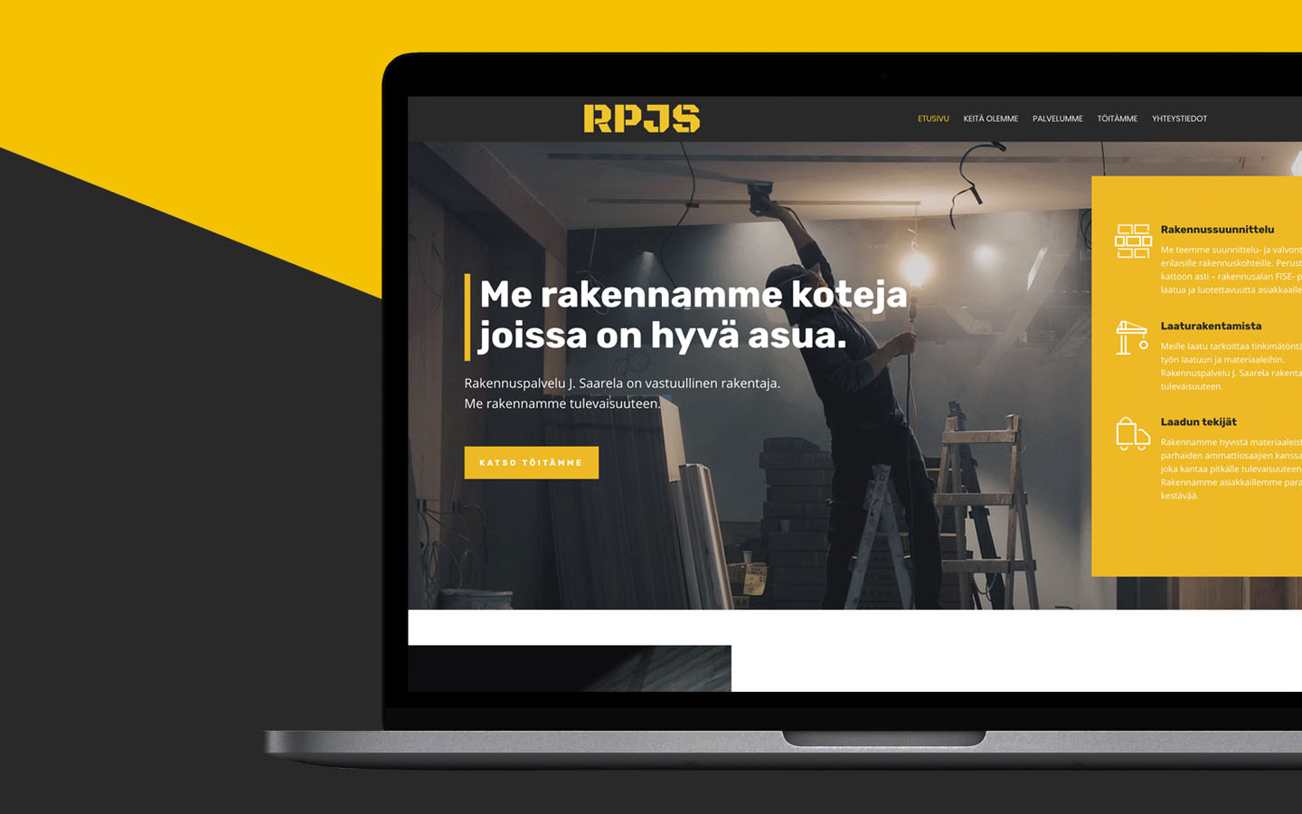Yam Creative | RPJS web design